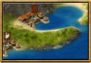 Skjermbilde fra Grepolis – Kart